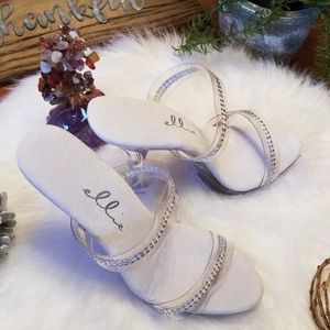 Ellie clear heels. Brand new and never worn.